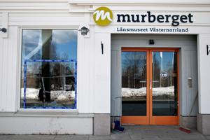 Murberget tvättas bort från länsmuseets officiella namn.Bild: Jennie Johansson