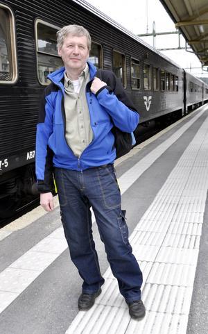 Lars B Johansson har varit väldigt engagerad i frågan om nattågen till och från Jämtland.