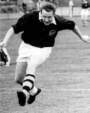 Rune Andersson, alla tiders målskytt i Ljunga – och en av Medelpadsfotbollens största profiler under storhetstiden på 1950-talet.
