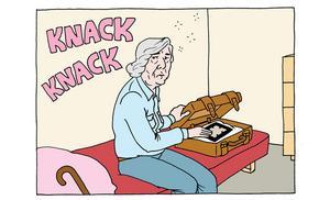 Marja vill helst vara ensam med sina minnen men de sällskapssjuka seniorerna på idylliska boendet Plejaderna avspisas inte så lätt.