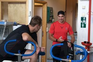Shane Harper har fått träna på egen hand hemma i USA men har nu återsamlats med sitt Örebro Hockey.