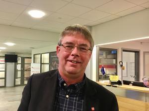 Mikael Löthstam (S) förnekar att han tagiti initiativet till att tvinga bort partikamraten Nina Burchardt.