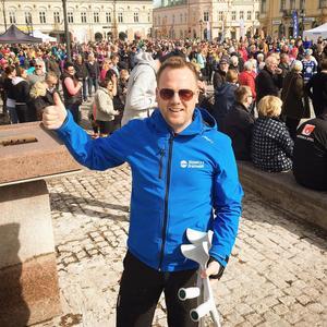Foto: Privat Bissen Larsson, grundare av Bissen Brainwalk.