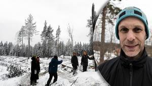 Mattias Ahlstedt är ordförande i Naturskyddsföreningen Dalarna. Foto: Fältbiologerna och Christian Larsen.