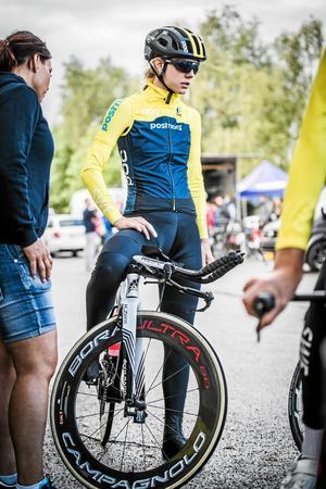 Emilia Fahlin. Arkivfoto: Niklas Wallner/Svenska cykelförbundet