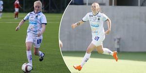 Clara Engstrand och Ida Pettersson blev målskyttar för GIF i segern mot Rimbo.