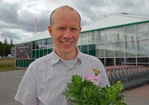 Linus Edström, 41, tillståndshandläggare, Timrå: