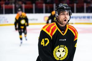 Före detta AIK:aren Eric Norin avgjorde mot Djurgården. Foto: Bildbyrån