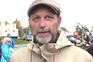 Jan Erik Thölin, marknadsgeneral, tillkallade polis när ungdomar blev för aggressiva på höstmarknaden i Norrtälje.