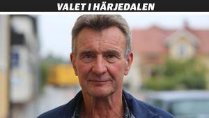 Olle Larsson berättar att hans parti vill ha en genomgång av kommunorganisationen.