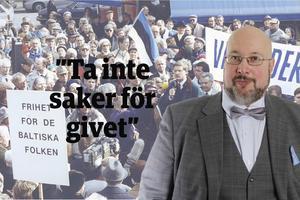 Det här är en ledartext av Patrik Oksanen som skriver om säkerhetspolitik och försvar för flera av MittMedias liberala och centerpartistiska tidningar. Oksanen är politisk redaktör för Hudiksvalls Tidning (c).