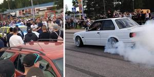 Enligt arrangörerna av Sura Meet 2019 har deltagarna inte kört några illegala street race – däremot har de gjort så kallade burn outs med publiken på säkert avstånd.
