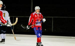 Andreas Hjulström räddade en poäng till Västanfors mot Åby/Tjureda.