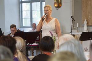 Lillemor Gustafsson Håkansson var en av solisterna.