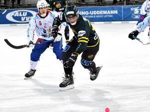 Lukas Mårdberg i aktion. Här mot Västanfors tidigare under säsongen.