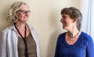 """Jag-budskap är mycket bättre än att säga """"du gör fel"""". Det anser Karin Sundström och Petra Hopfgarten som leder kurser i friskvård i relationer."""