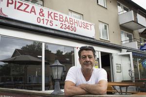 Ali Cicek på Pizzahuset