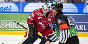 Linus Lundins kontrakt  med Modo Hockey går ut och han är väldigt förtegen om sin hockeyframtid. Bild: Daniel Eriksson/Bildbyrån