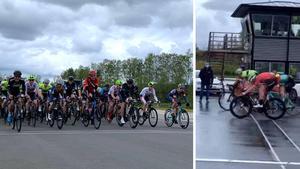 Fartfylld cykeltävling på Kinnekulle Ring ►Se den rafflande upplösningen i herrloppet