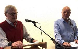 Anders och Nicklas Nyberg förmedlar med inlevelse episoder från sitt företagande.