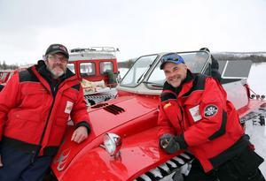 Göran Persson och Arne Linding håller i den årliga vesselträffen i Ljungdalen