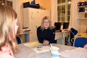 Ulrica Westin, verksamhetschef på KomTek, var nöjd med Tjejkvällen.