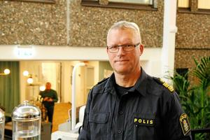 Per Ågren, polisområdeschef i Gävleborg, har varit inblandad i projektet med framtidens polishus i knappt ett år, då han började på tjänsten.