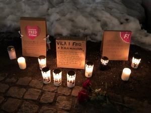 Efter att en kvinna dött på Söder i februari ordnades med en tyst manifestation för att uppmärksamma våldet mot kvinnor.
