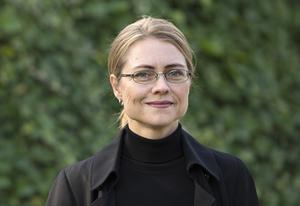 Jayne Svenungsson lämnar Akademien och stol nummer 9. Arkivbild.