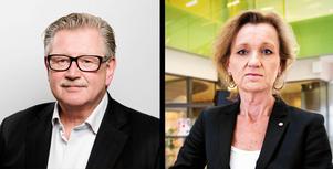 Tage Gripenstam och Boel Godner är inte riktigt eniga om hur beslutet kom till.