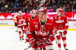 Anton Wedin blir kvar i Timrå IK den kommande säsongen. Bild: Pär Olert/Bildbyrån.