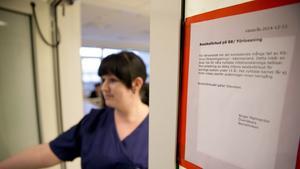 Restriktioner. Märta Englund är barnsköterska på BB, där man har infört besöksrestriktioner på grund av RS-virus.