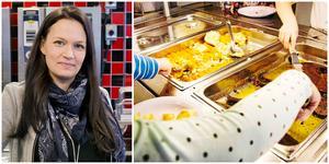 """Jeanette Andersson ser fram emot att även Hökmossens förskola får ett tillagningskök. """"Går allt som det ska kan vi börja till sommaren"""", säger hon."""