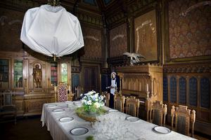 Holmbergska matsalen ska flyttas och placeras vid den nya entrén på Torekällberget. Foto: Mattias Holgersson