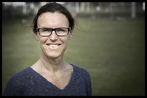 Catarina Wahlgren, gruppledare för Vänsterpartiet i Region Stockholm. Foto: Anders Sjöberg