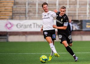 Broberg fick gå mållös från matchen, men det var han som slog assisten till kvitteringsmålet i den 94:e minuten. Foto: Fredrik Karlsson/BILDBYRÅN