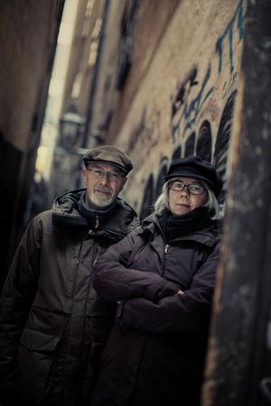 Rollspelskonstruktörerna och författarna Michael Petersén och Gunilla Jonsson kommer till Replicon . Foto: Rosie Alm