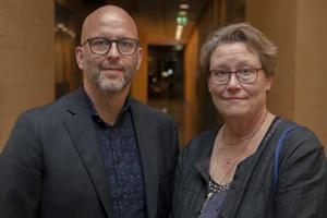 Tony Axelsson och Maria Vretemark