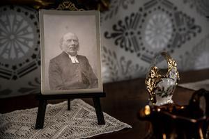 Prosten Olof Albert Wallén var den siste kyrkoherden som bodde i den gamla prästgården.