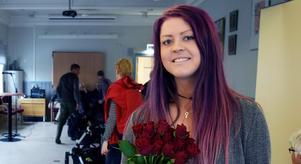 Falupolitikern Sofie Eriksson (S) skriver på DD:s ledarsida. Foto: Mats Laggar