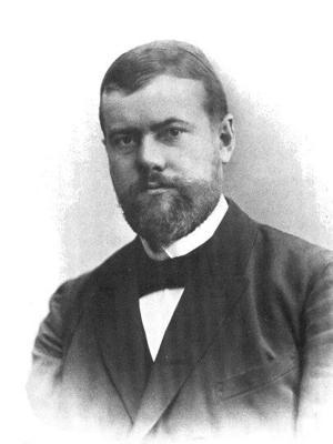 Max Weber 1894.  Foto: Okänd