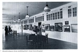 VKF:s andra utställningslokal var i Ottartornet hos Asea.