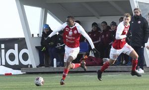 Moonga Simba och Leo Englund – två av SIF:s målskyttar mot  Boden borta.