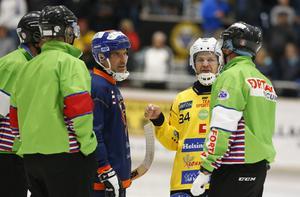 Magnus Fryklund  är en av spelarna i Broberg som dragits med skadekänningar.