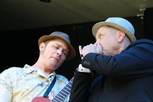 Janne Hermansson och Timo Tilly samspelade bra i Bluestompers.