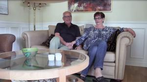 Efter moget övervägande har nu Mats Jonsson och Lena Sigurd bestämt sig för att sälja villan på Kilvägen i centrala Östersund.