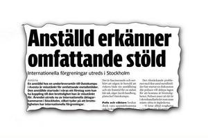 Faksimil ur Södra Dalarnes Tidning den 25 augusti.