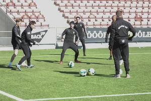 ÖSK gjorde sin sista träning under söndagen, inför måndagens hemmapremiär mot Djurgården.