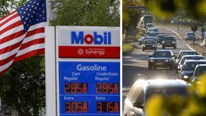 Skribenten jämför bensinpriset i Sverige och USA, där det är avsevärt billigare att tanka. Bilder: Ben Margot/AP/TT / Jan Olby