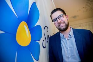 Tryggheten är SD:s nyckelfråga i valet, uppger partiledaren Jimmie Åkesson i intervjun med Mittmedia.